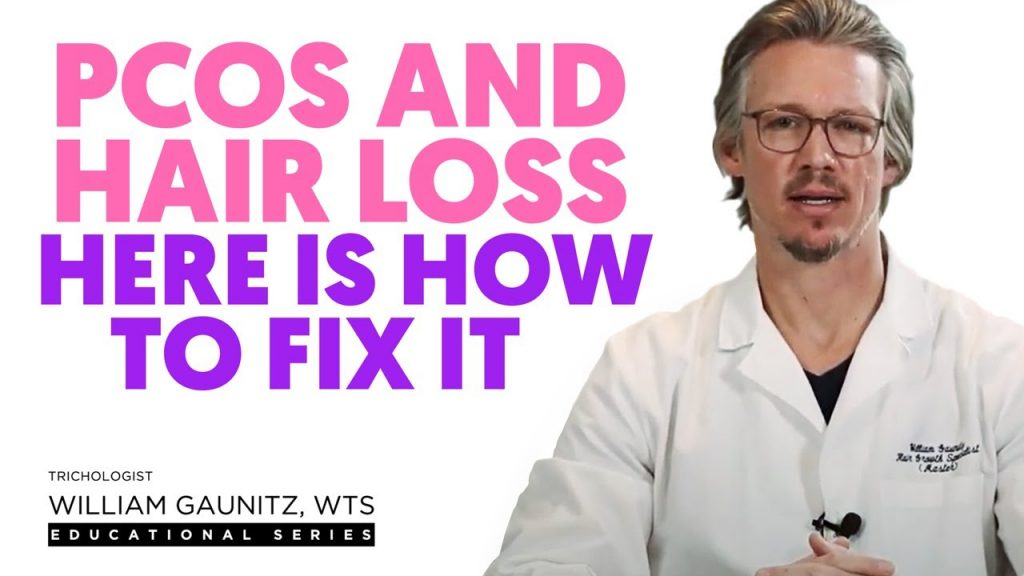 PCOS and hair loss. Why is it happening what can you do about it.