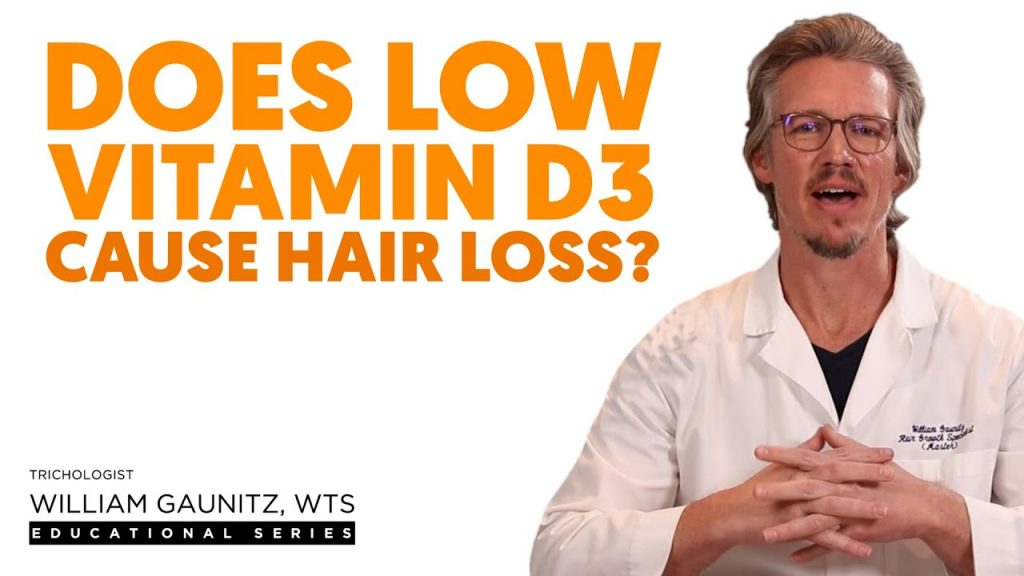 Does Low Vitamin D3 Cause Hair Loss?